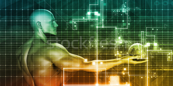 программное безопасности технологий искусства аннотация Мир Сток-фото © kentoh