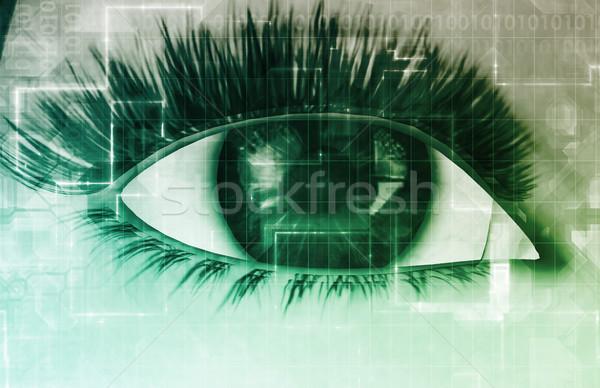 онлайн конфиденциальность личные данные Сток-фото © kentoh