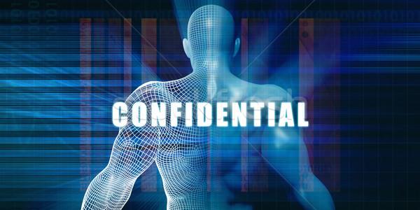 Confidential Stock photo © kentoh