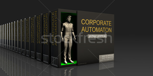 Corporate Automaton Stock photo © kentoh