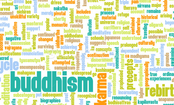 Buddhism Stock photo © kentoh