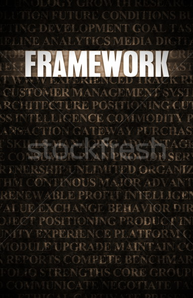 Framework Stock photo © kentoh