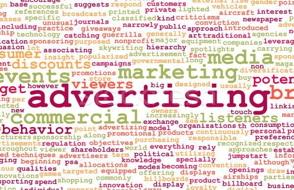 Advertising Stock photo © kentoh