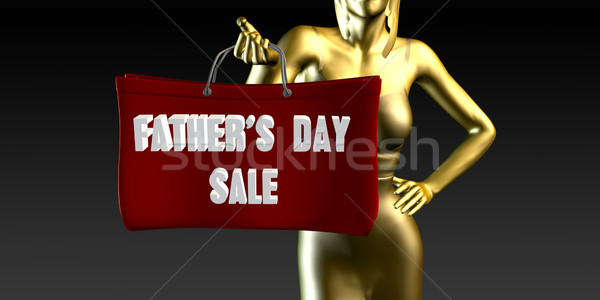Fathers Day Sale Stock photo © kentoh