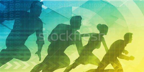 Sales Strategy Stock photo © kentoh