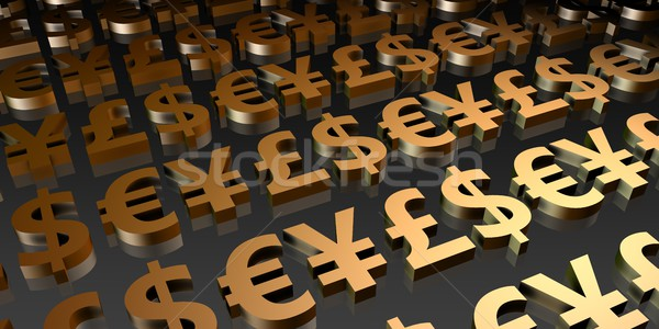 Currency Symbols Stock photo © kentoh