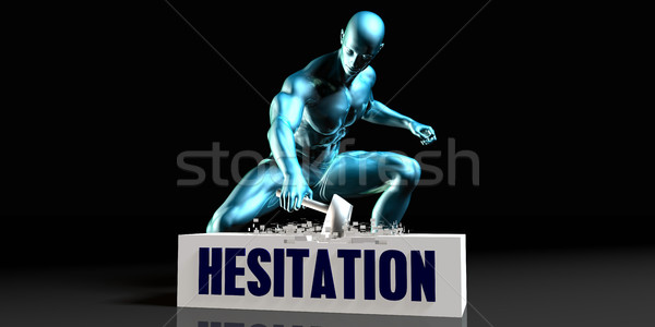 Get Rid of Hesitation Stock photo © kentoh