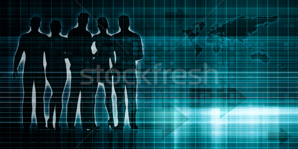 Dynamic Technology Stock photo © kentoh