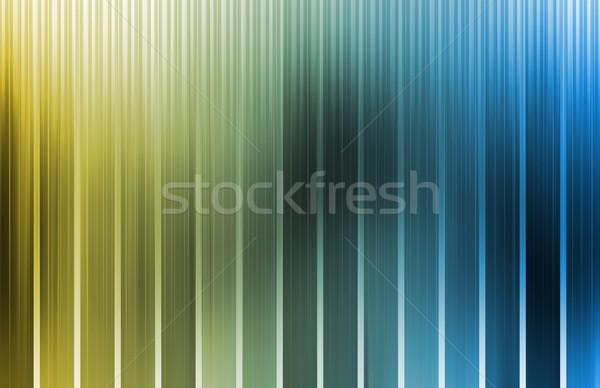 энергии спектр данные сетке линия интернет Сток-фото © kentoh