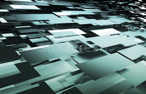 Futuristic Technology Background Stock photo © kentoh