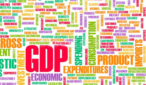 GDP Stock photo © kentoh