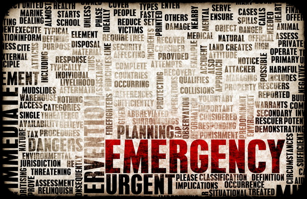 Emergency Concept Stock photo © kentoh