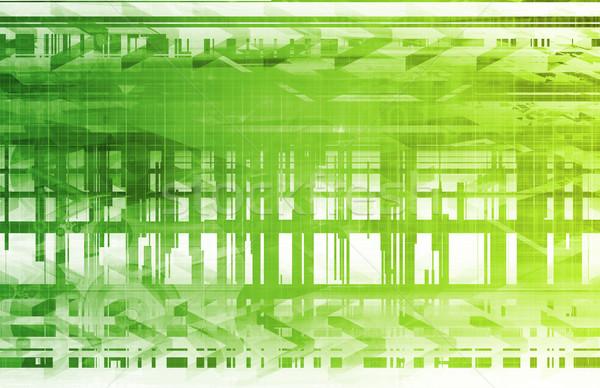 Software engenharia técnico arte projeto segurança Foto stock © kentoh