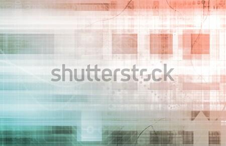 ビジネス インテリジェンス 企業 世界 芸術 抽象的な ストックフォト © kentoh