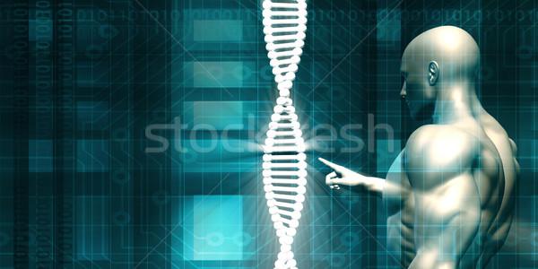 DNA Background Stock photo © kentoh