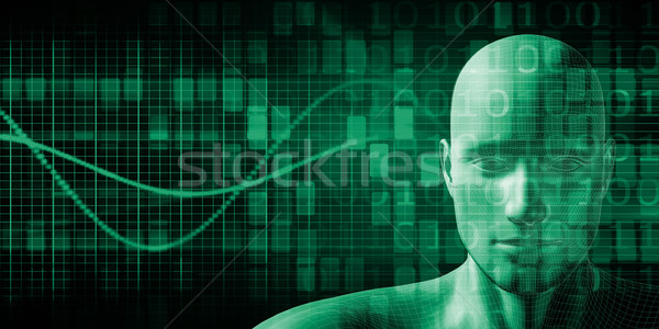 Human Implant Concept Stock photo © kentoh