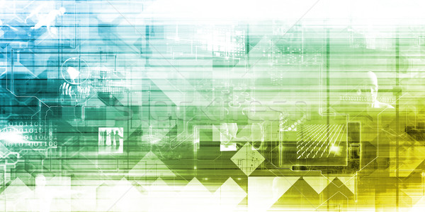 Entreprise mobilité technologie travaux bureau conférence Photo stock © kentoh