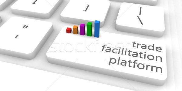 Trade Facilitation Platform Stock photo © kentoh