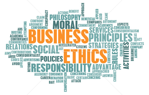 Business Ethics Stock photo © kentoh