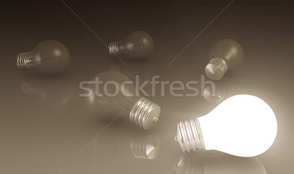 Ideas Stock photo © kentoh