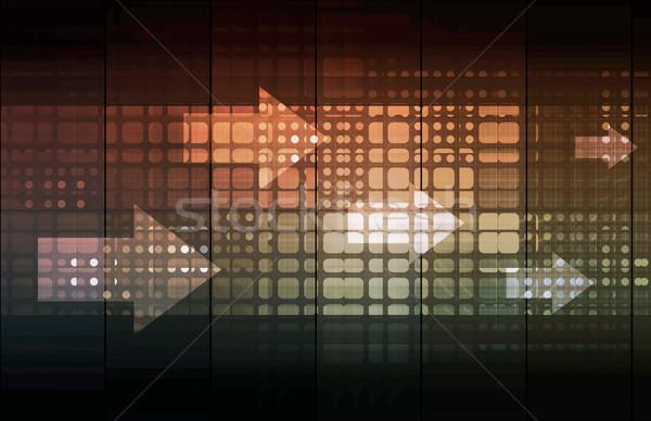 Secure Technology Network Stock photo © kentoh