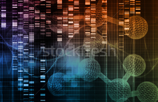 Foto stock: Haste · célula · pesquisa · desenvolvimento · saúde · fundo