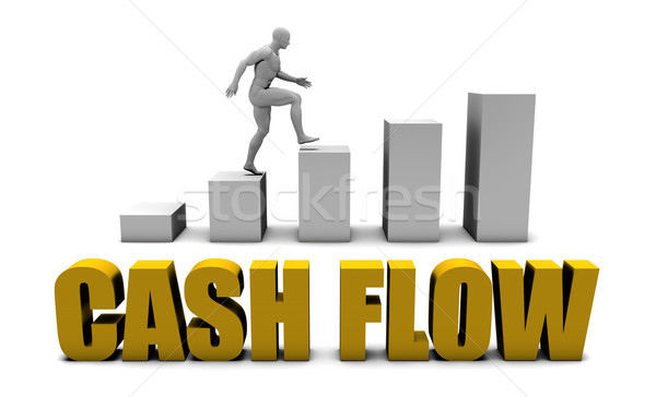 Cash flow Stock photo © kentoh