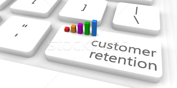 Customer Retention Stock photo © kentoh