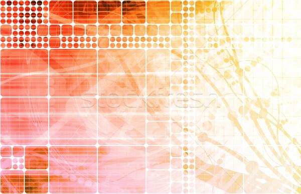 医療 科学 業界 抽象的な 創造 ストックフォト © kentoh