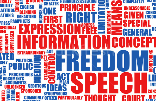 Freedom of Speech Stock photo © kentoh
