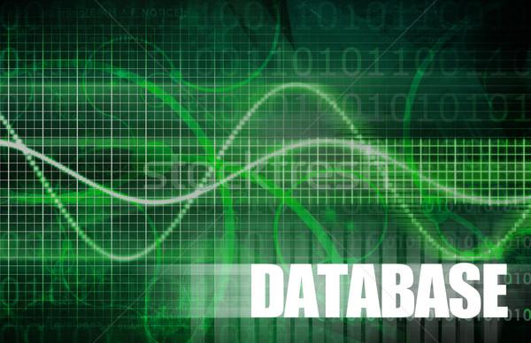 Veritabanı kurumsal veri Internet dünya teknoloji Stok fotoğraf © kentoh