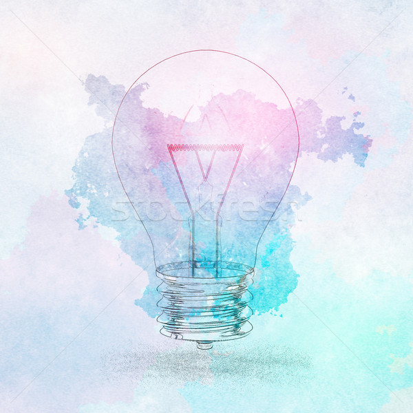 креативность бизнеса инновация энергии успех плакат Сток-фото © kentoh