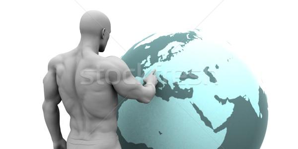 Business Expansion into Europe Stock photo © kentoh