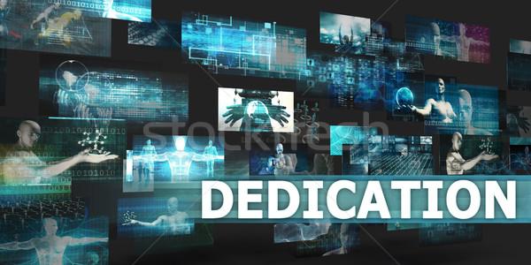 Dedication Stock photo © kentoh