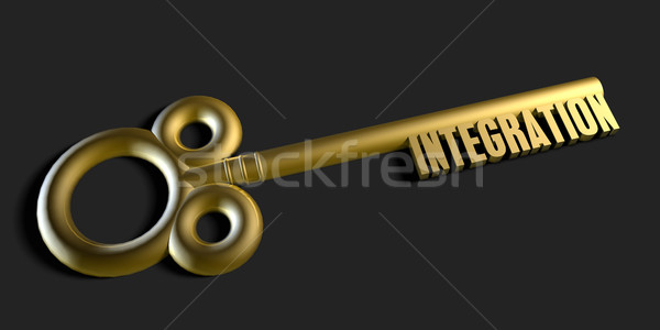 Key To Your Collaboration Stock photo © kentoh
