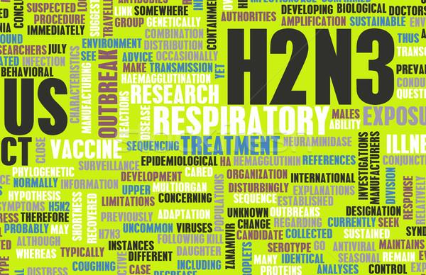 H2N3 Stock photo © kentoh
