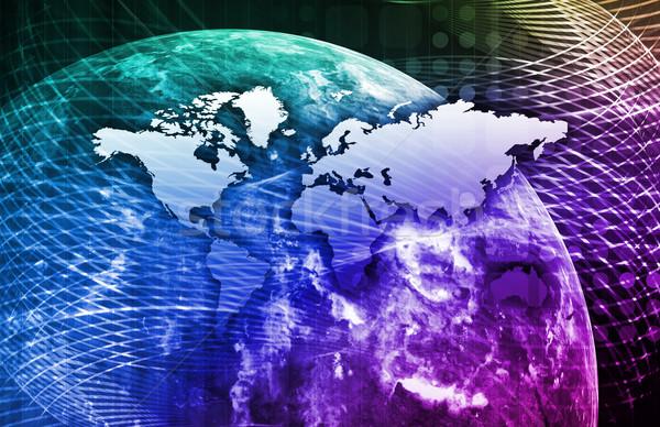 Integrato soluzioni web internet cross Foto d'archivio © kentoh