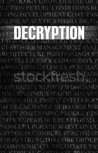Decryption Stock photo © kentoh