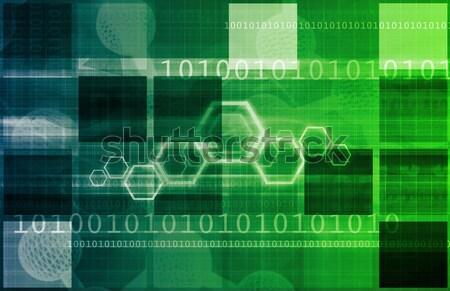 技術 ソリューション ビジネス コンピュータ 背景 ネットワーク ストックフォト © kentoh