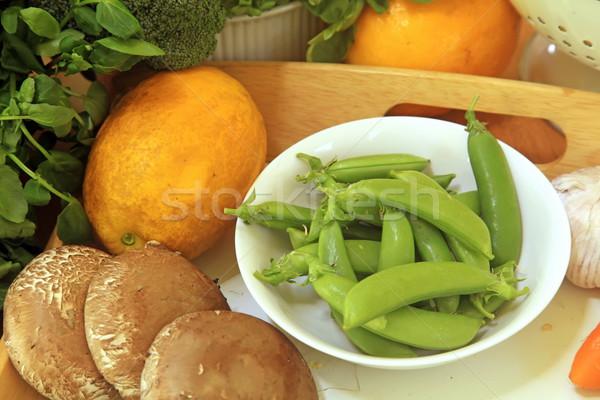 Sebze hasat sebze gıda doğa Stok fotoğraf © kentoh