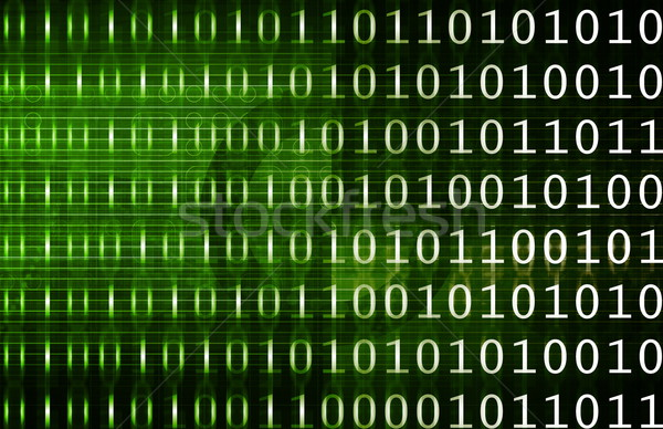 Informatika üzlet absztrakt technológia biztonság hálózat Stock fotó © kentoh