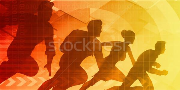Strive for Progress Stock photo © kentoh