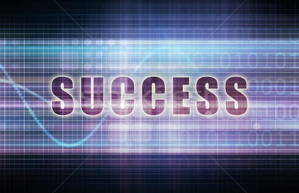 éxito tecnología negocios tabla arte fondo Foto stock © kentoh