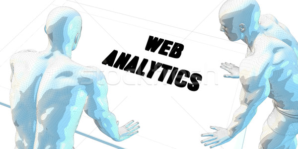 Web Analytics Stock photo © kentoh