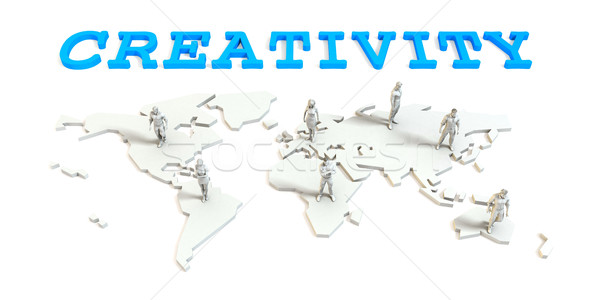 Creativity Global Business Stock photo © kentoh