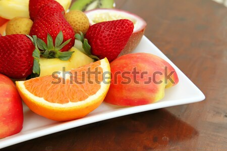 Fresh Fruits Stock photo © kentoh