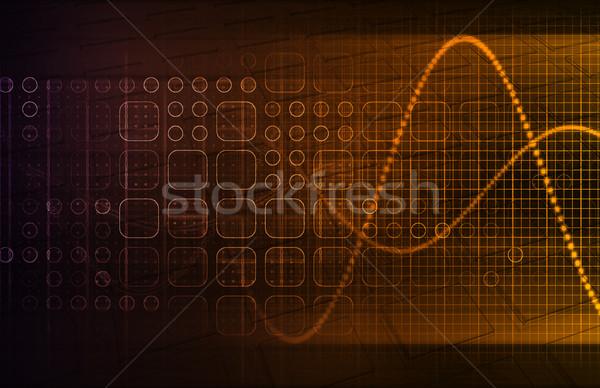 Genetika genetikai kód tudomány absztrakt orvosi Stock fotó © kentoh