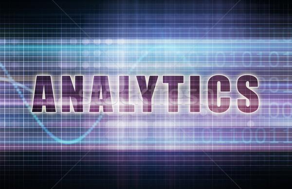 Analytics Stock photo © kentoh