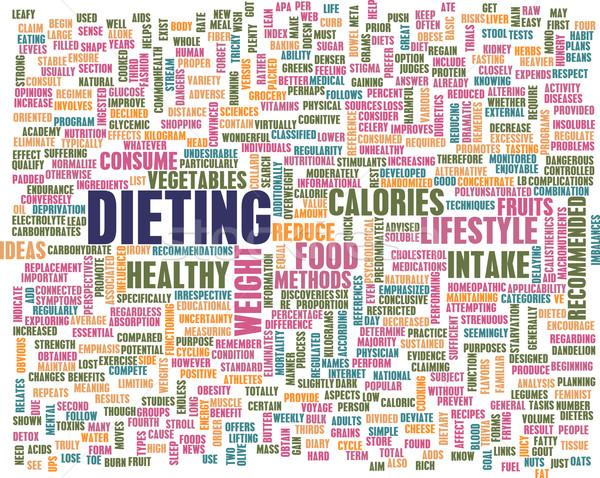 Dieting Stock photo © kentoh