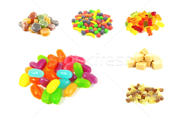 Colorful Fruit Flavored Candy Stock photo © kentoh